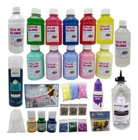 Kit Para Fazer Todo Tipo De Slime Com Desativa Slime Brinde