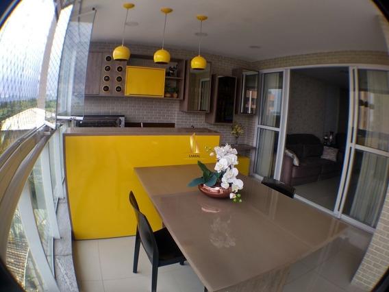 Apartamento 04 Quartos/ 2 Suítes - Sol Da Manhã - Residencial Jardins -torre A- Em Jardim Camburi - 16995