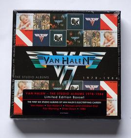 Box 6 Cds Van Halen - Studio Albums 1978-1984 Importado