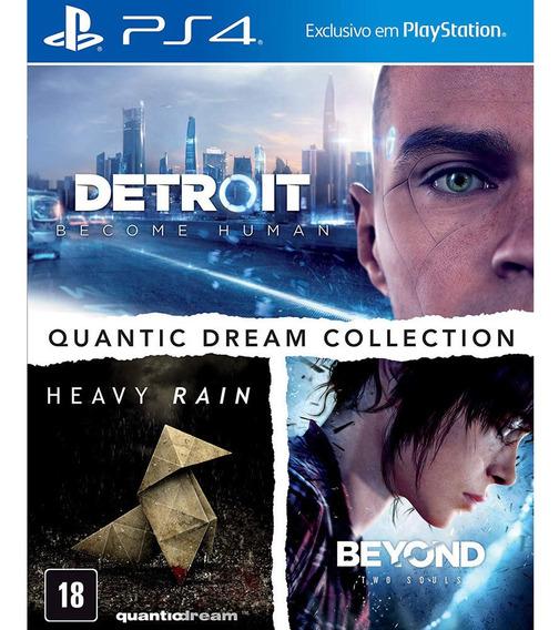 Jogo Ps4 - Quantic Dream Collection - Sony