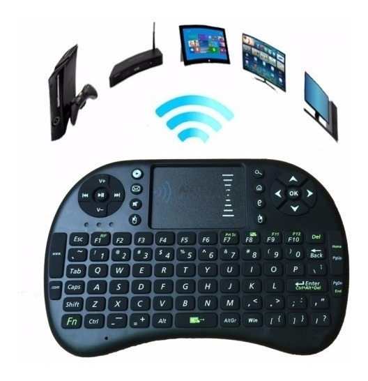 Mini Teclado Wifi Keyboard Controle! Entrega Imediata!!!