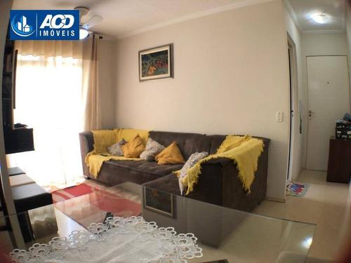 Apartamento Com 3 Dormitórios Com 63 M², Por R$ 295.000 - Vila Maria - São Paulo/sp - Ap0163