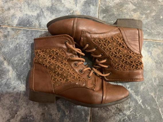 Botas Zapatos De Niña Talla 35
