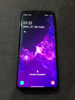 Galaxy Samsung S9 Preto 128gb