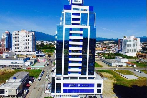 Sala Comercial No Pme Offices Tower, Pagani - Sa0839