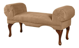 Sofa Banco Para Sala Acme Aston Beige