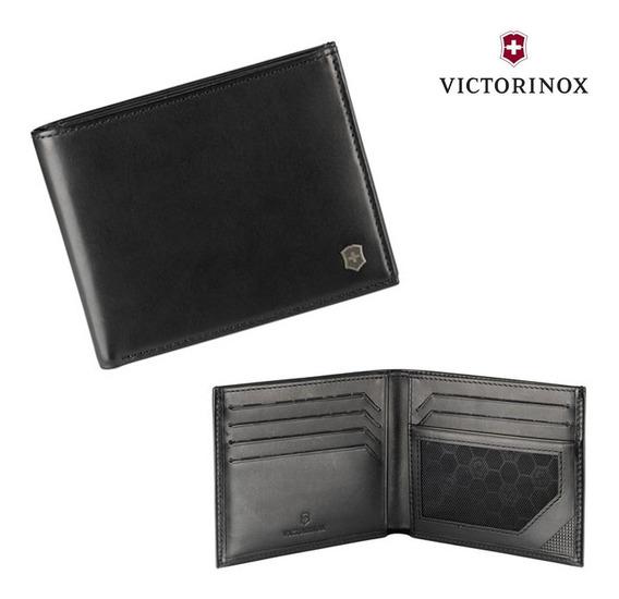 Cartera Victorinox De Doble Pliegue Con Protección Rfdi 601996