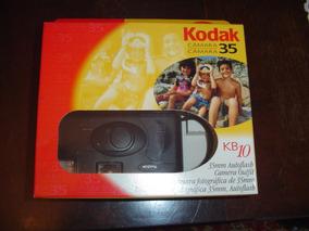Câmera Fotográfica Kodak Kb10 35mm Autoflash Na Caixa