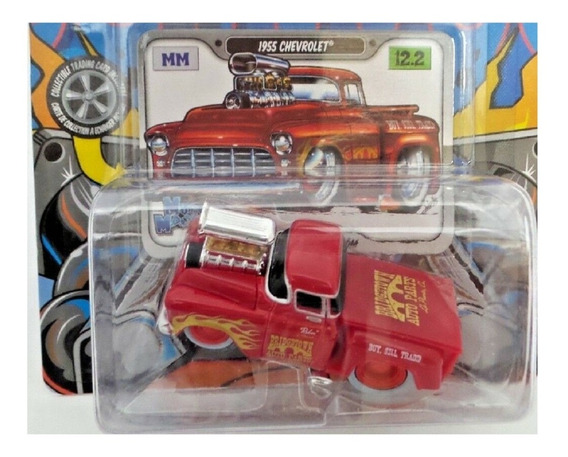 Maisto 1955 Chevrolet Pickup Muscle Machines Solo Envios
