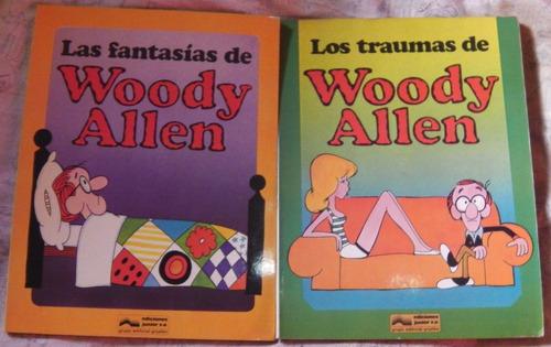 Lote 2 Comics Sobre Woody Allen