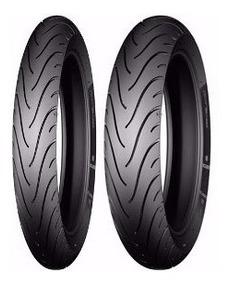 Par Pneu Michelin Original Titan 150 Sport Honda S Juros