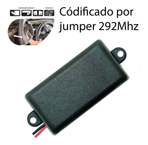 Controle Remoto Portão Acionamento Farol Tx Car 292 New Back