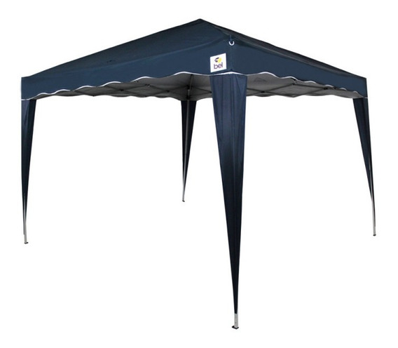 Tenda Gazebo Dobrável 3x3 Azul Bel Lazer