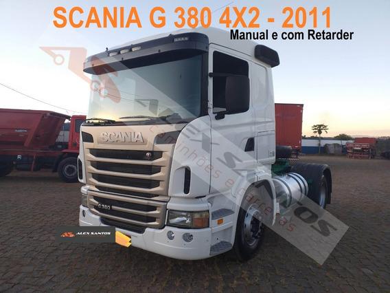 Scania G 380 4x2 - Retarder