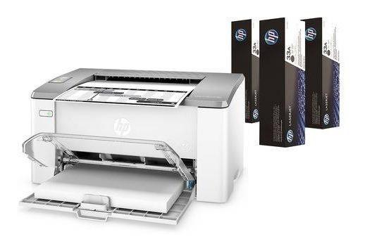 Impressora Hp Laserjet Ultra M106w Usb Wireless 110v
