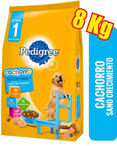 Imagen 1 de 3 de Pedigree Cachorro 8kg + Costa, Pando, Bbcos, Empalme, Etc
