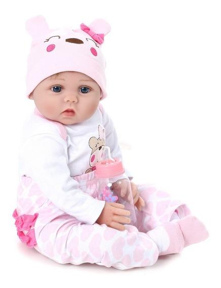 Boneca Realista Bebe Reborn Kaydora Linda Menina Princesa