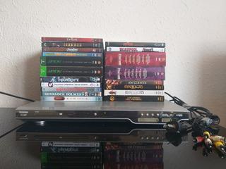 Reproductor Dvd Tonomac Dv5302 + Películas Originales