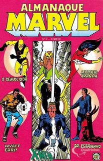 Almanaque Marvel Rge - Número 2 - Bom Estado De Conservação