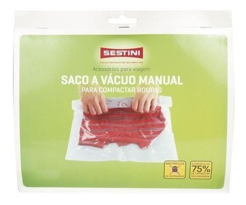 Saco A Vácuo Manual 3 Unidades Sestini G - 81098