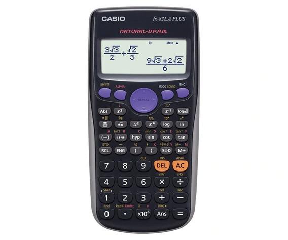 Calculadora Cientifca Casio Fx-82la Plus 252 Funciones Origi
