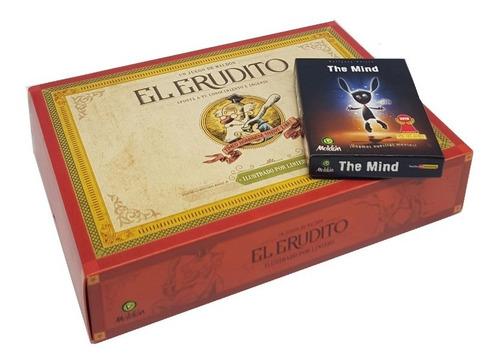 Combo Juegos De Mesa El Erudito + The Mind