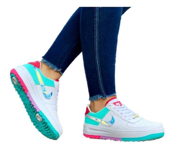 Tenis Mujer Lindas Zapatillas Nike Promoción Envío Gratis