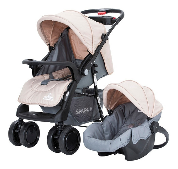 Carrito Coche Bebes Rebatible Travelsystem Huevito Snaply