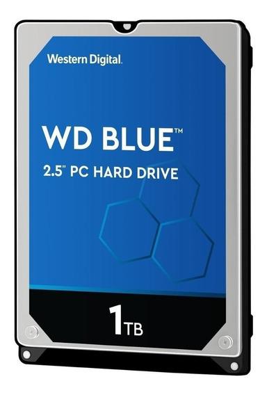 Disco rígido interno Western Digital WD Blue WD10SPZX 1TB azul