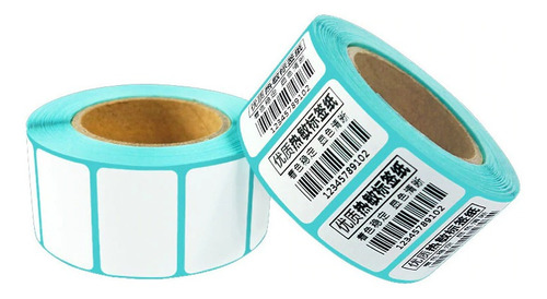 Imagen 1 de 2 de Etiqueta Termica Auto Adhesiva 30x20mm