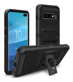 Capa Case Samsung S10 Anti Impacto Shock Clipe D Cinto + Gel