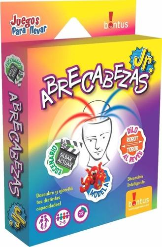 Abrecabezas Jr - Juego De Mesa - Original Bontus - Mca