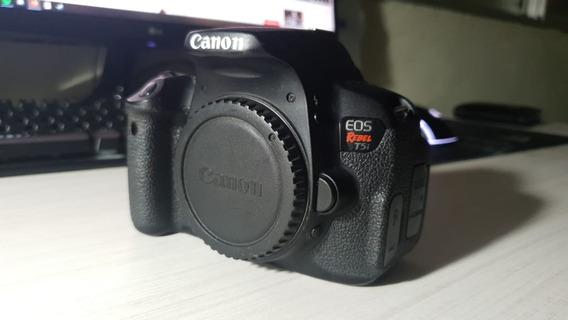 Canon T5i + 4 Baterias + Disparador