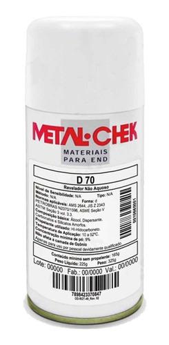 Imagem 1 de 3 de Revelador Metal-check  D70