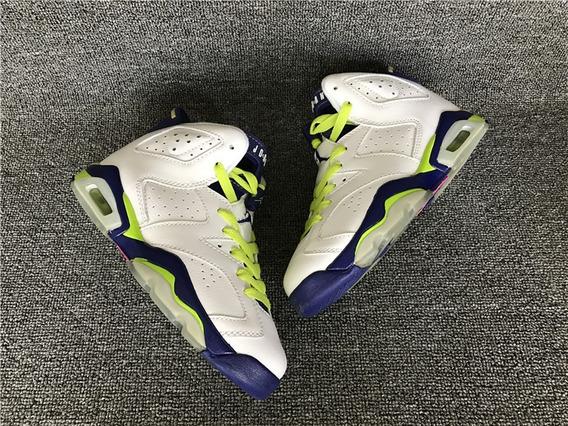 Tenis Jordan 6 Sport Green