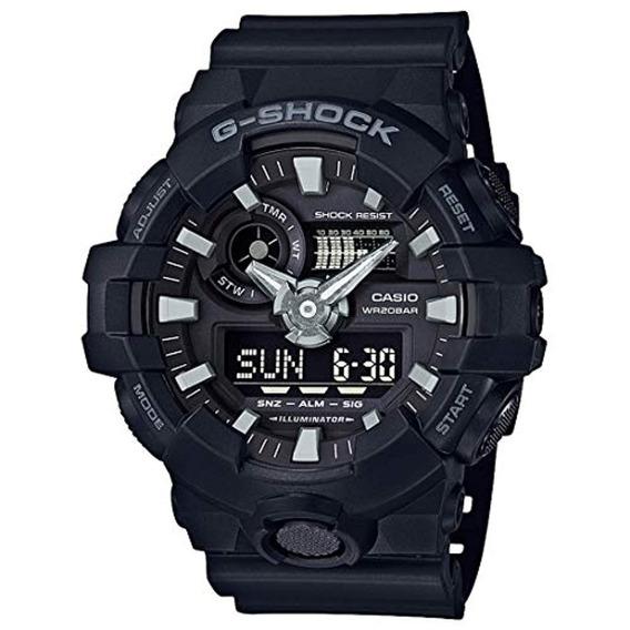 Casio G-shock Ana Digi All Black Reloj Para