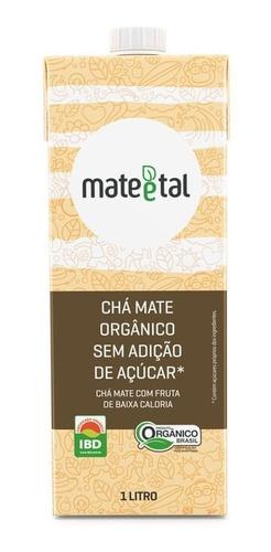 Chá Mate Orgânico Zero 1 Litro (01 Unidade)
