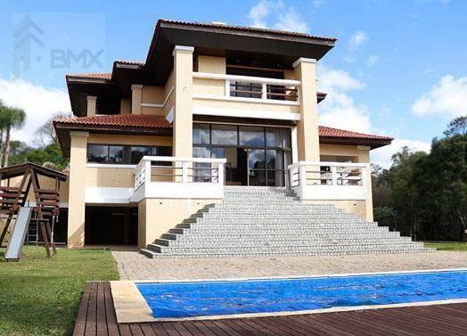 Casa Com 4 Dormitórios À Venda, 780 M² Por R$ 5.544.000 - Passauna - Campo Largo/pr - Ca0148