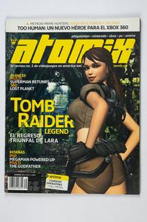 Revista Atomix #75 Tom Raider Legend
