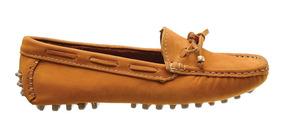 8568def8d Sapatos Sociais e Mocassins para Feminino Ocre com o Melhores Preços ...