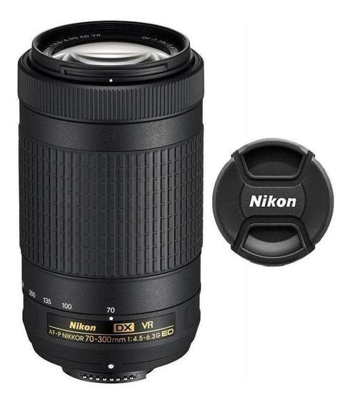 Lente Nikon Af-p Dx 70-300mm F/4.5-6.3g Ed Vr