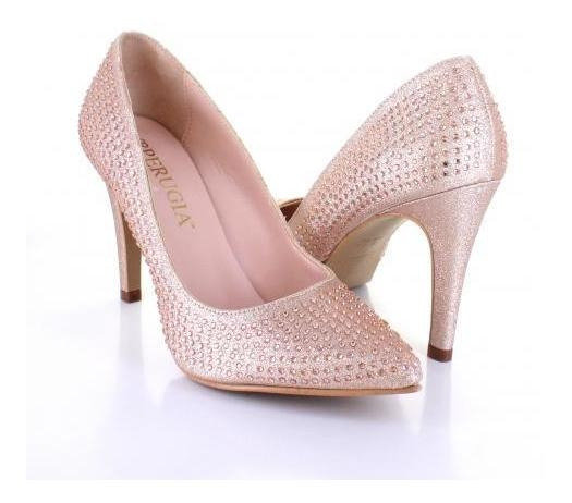 Zapatilla Para Mujer Perugia 98115-057387 Color Oro Rosado