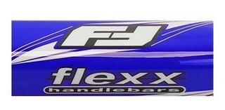 Tapa De Vinilo Para Manubrio Flexx Azul Para Cuatriciclo Atv