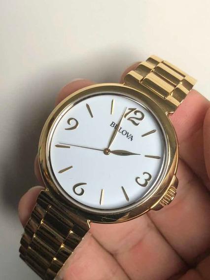 Relógio Bulova Dourado Wb27850h