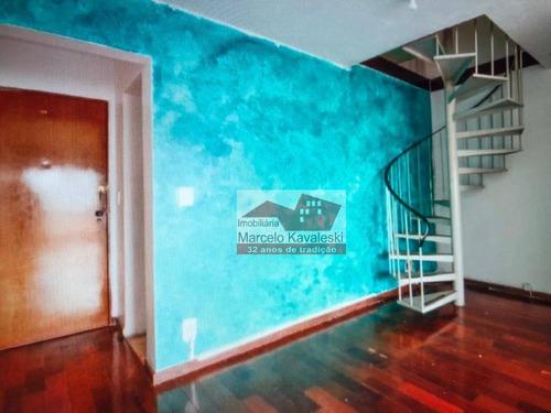 Cobertura Com 5 Dormitórios À Venda, 188 M² Por R$ 1.200.000 - Vila Mariana - São Paulo/sp - Co0115