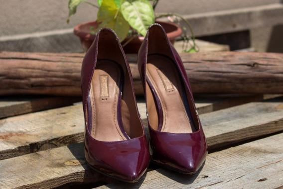 Sapato Vinho Arezzo
