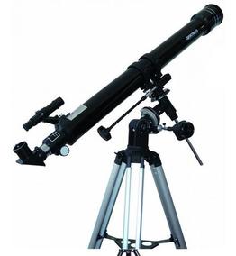 Telescópio Astronômico Greika Equatorial Refrator 90070 Eq