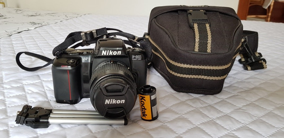 Camera Nikon F-601 Quartz Date Analógica