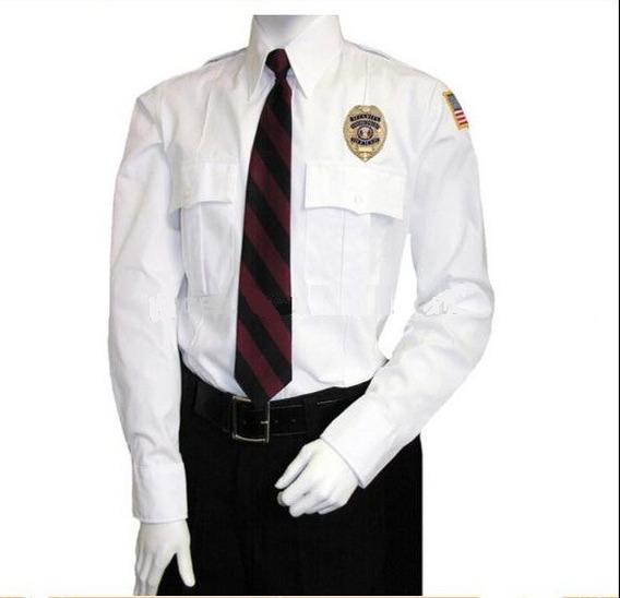 Uniforme De Seguridad Pantalon Y Camisa Con Bordado