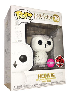 Funko Pop Hedwig #76 Flocked Eb Exclusive Harry Potter